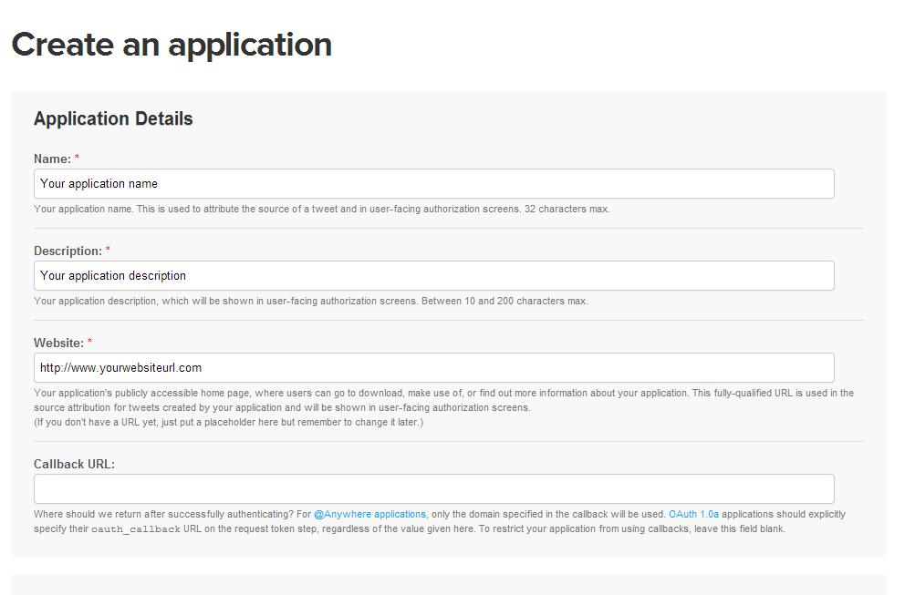 create-application