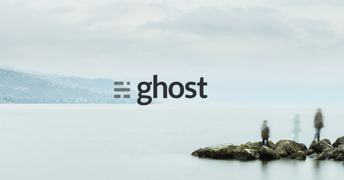 ghost versus wordpress image