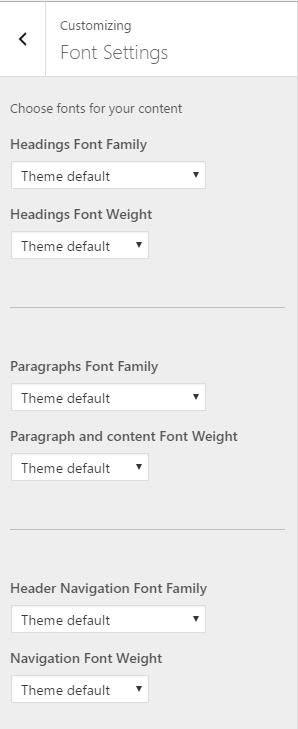 veni-font-settings