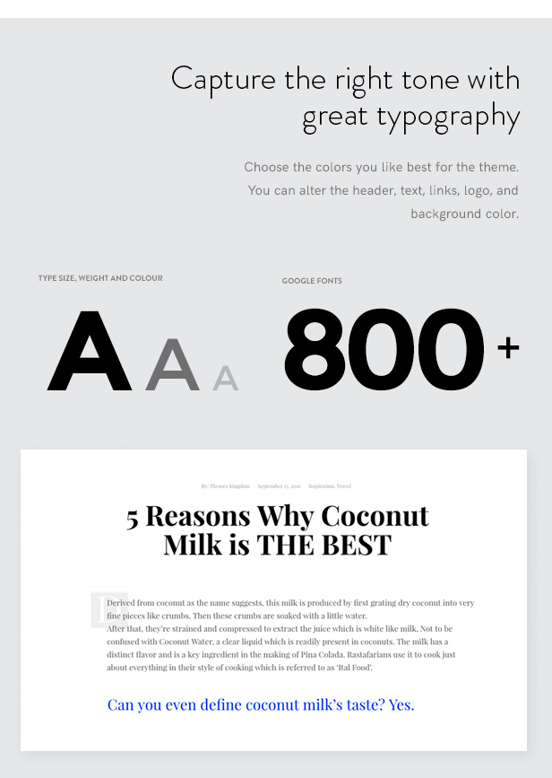 """Typography""/  Download Veni – Multipurpose E-commerce WordPress Theme nulled typo"